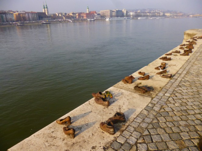 Danube shoes memorial, Budapest, Hungary