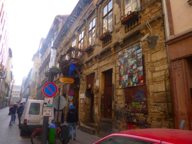 Szimpla ruin bar, Budapest, Hungary