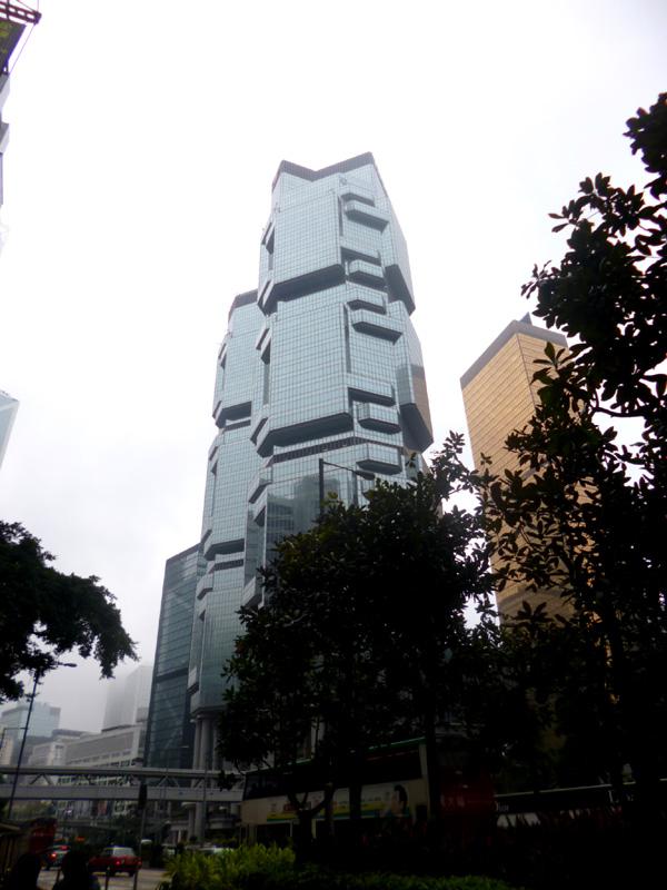 Weird shaped building, Hong Kong