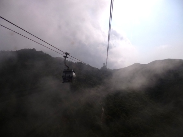 cable car, nong ping, big buddha, hong kong