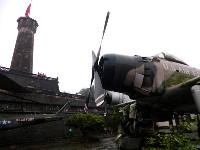 war museum, hanoi, vietnam, planes