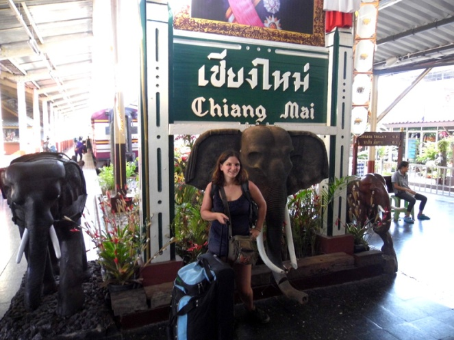 Chiang Mai train station, Thailand