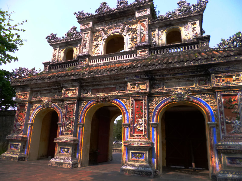 Gate of Manifest Benevolence, Imperial City, Hue, Vietnam