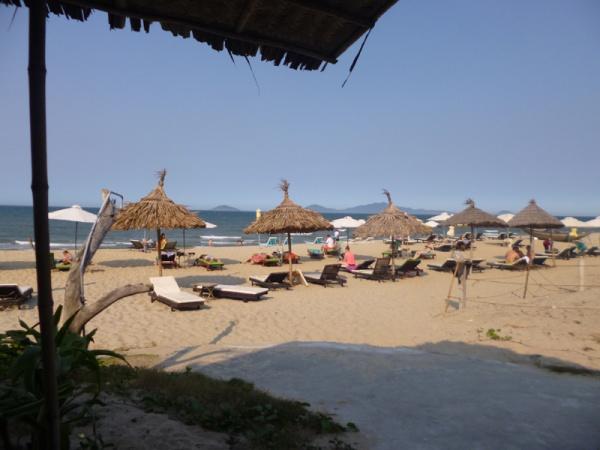 hidden beach, hoi an, vietnam