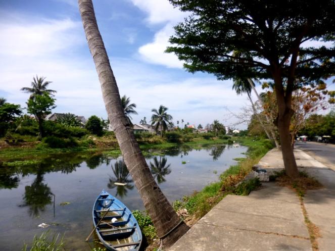 Hoi An river, Vietnam