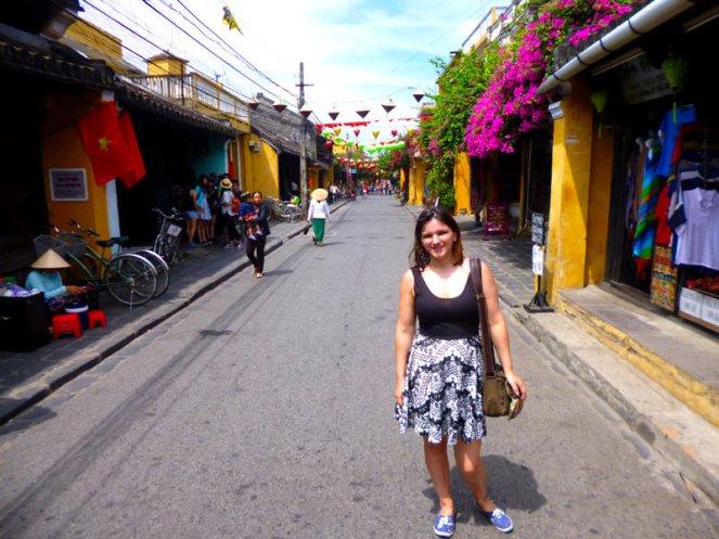 Me in Hoi An, Vietnam