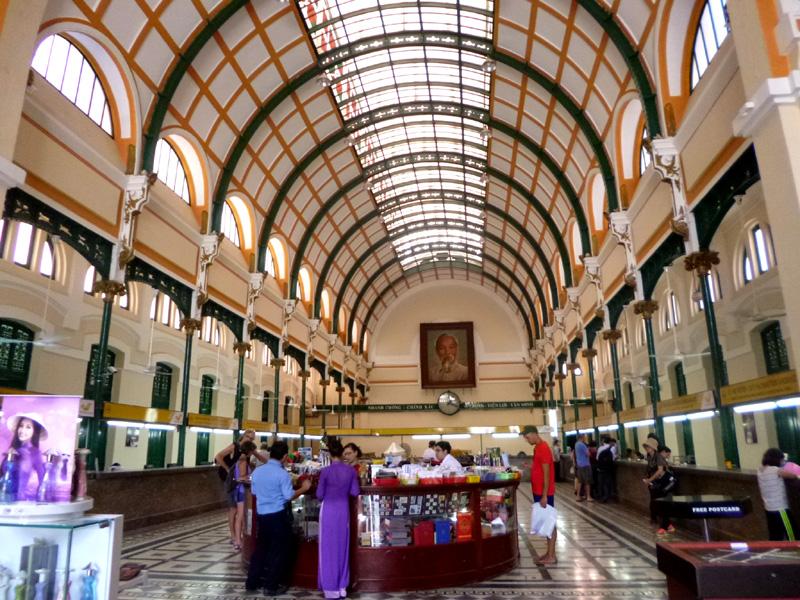 Post Office, Ho Chi Minh City, Vietnam