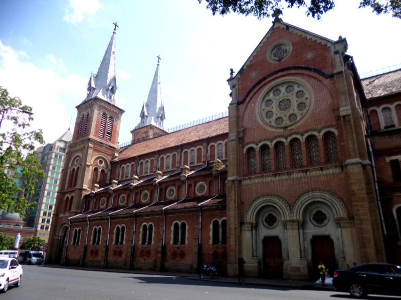 Notre Dame Cathedral Of Saigon, Ho Chi Minh City, Vietnam