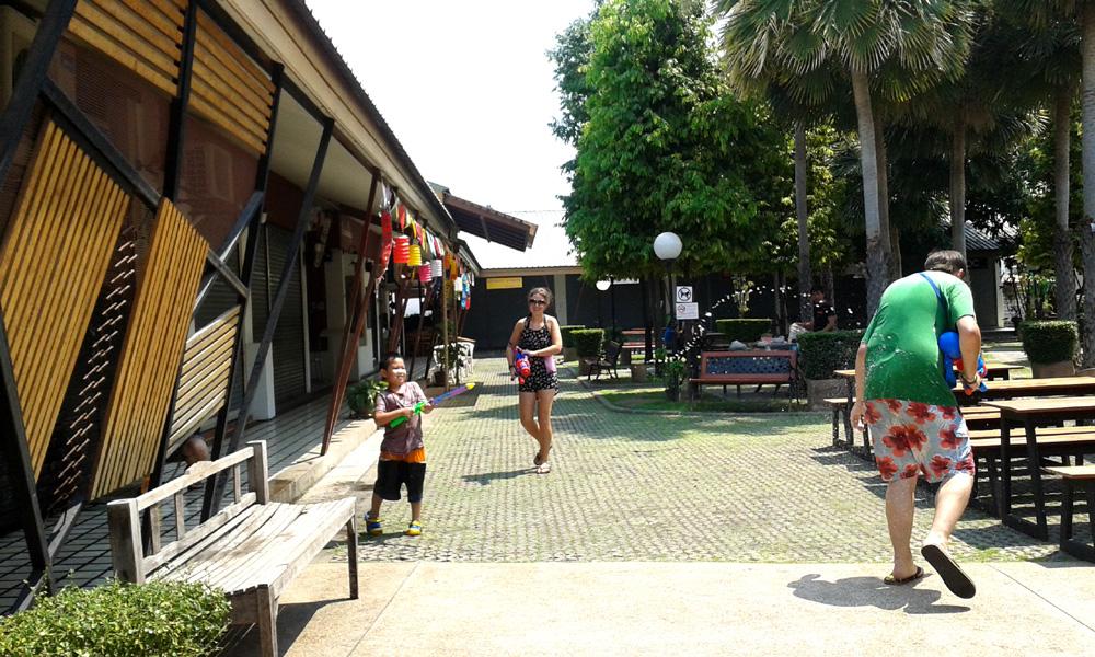 Songkran water fights, Chiang Mai, Thailand