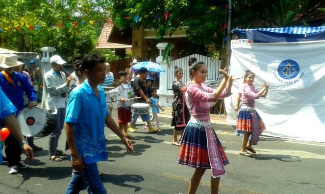 Songkran, Chiang Mai, Thailand