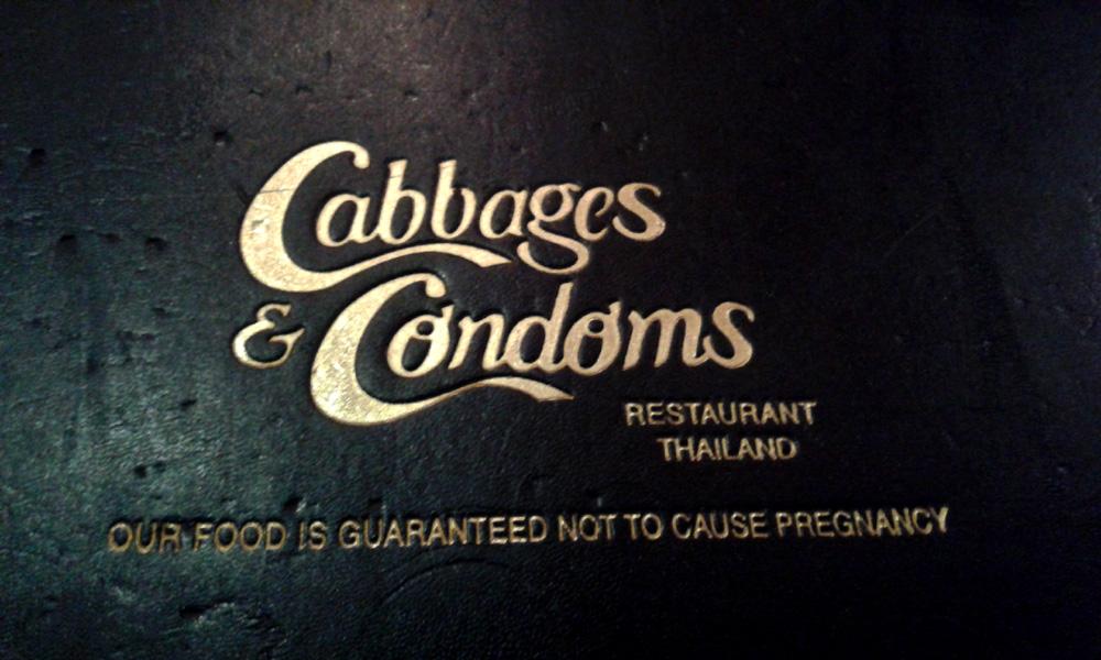 cabbages & condoms, restaurant, bangkok, thailand