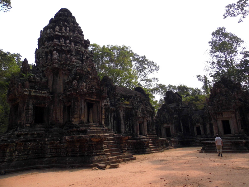 angkor, siem reap, cambodia, deserted temples