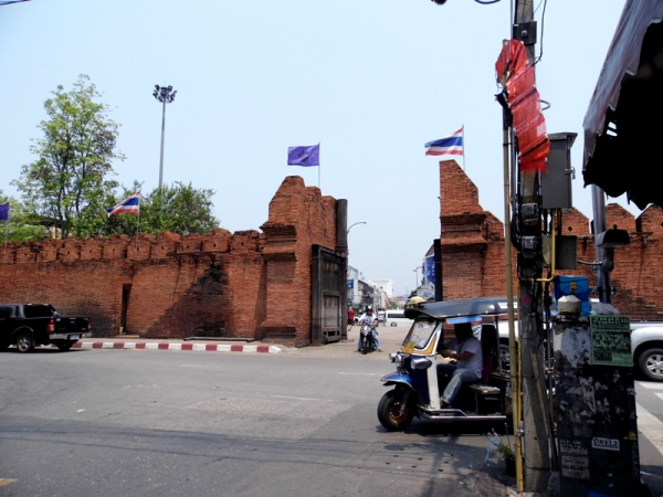 Taphae Gate, Chiang Mai, Thailand