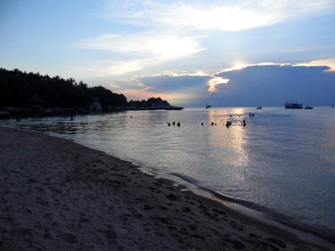 Koh Tao sunset, Thailand