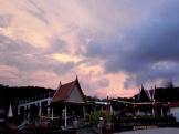 sunset, koh lanta, thailand