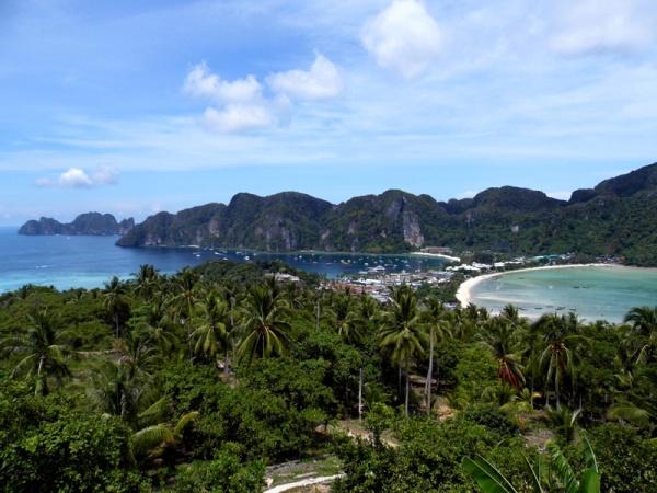 koh phi phi, island, view, thailand
