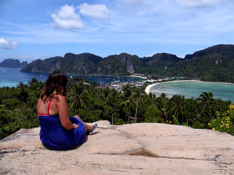 koh phi phi, view, thailand