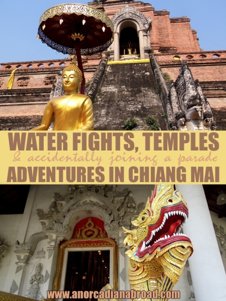 Songkran, Temples & Accidentally Joining A Parade: Adventures In Chiang Mai