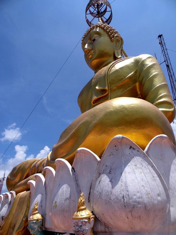 buddha, tiger cave temple, krabi, thailand