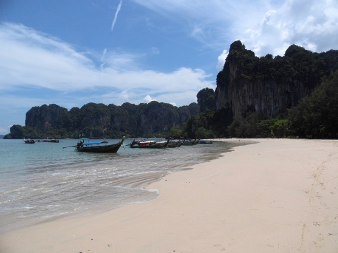 railay beach, krabi, thailand