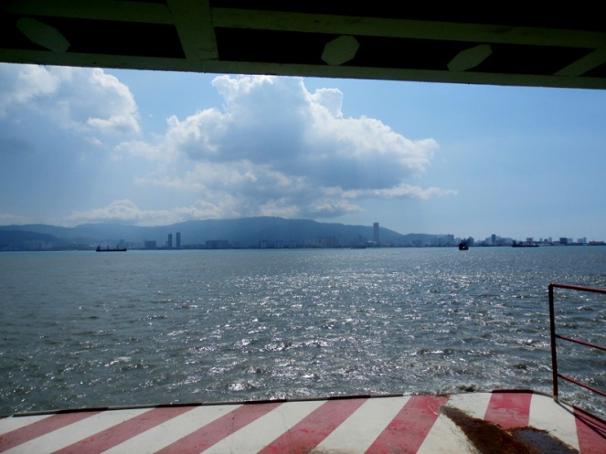 Butterworth to Penang ferry, Malaysia