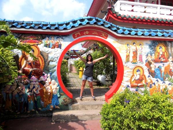 Kek Lok Si temple hobbit hole, Penang, Malaysia