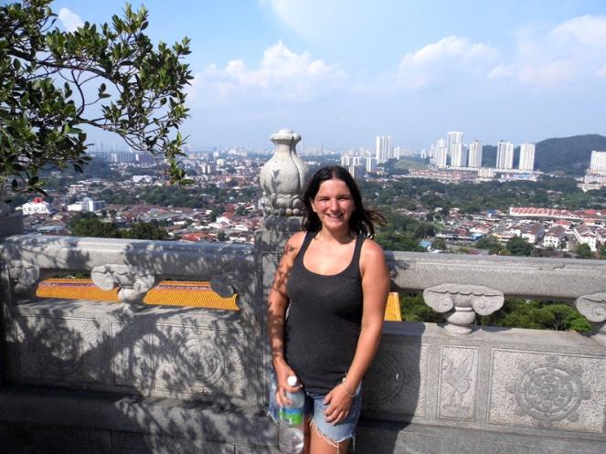 View over Penang from Kek Lok Si temple, Penang, Malaysia
