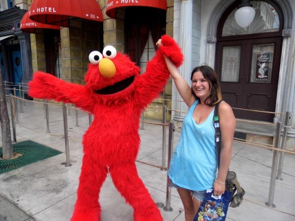 Universal Singapore with Elmo