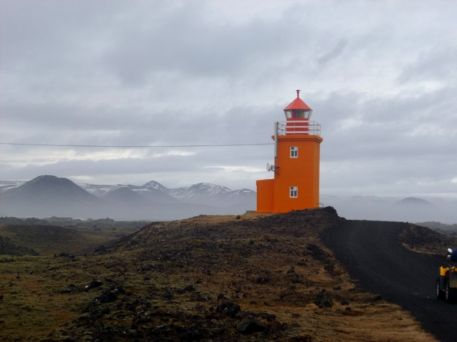 lighthouse, quad bike tour, atv tour, atv4x4, iceland