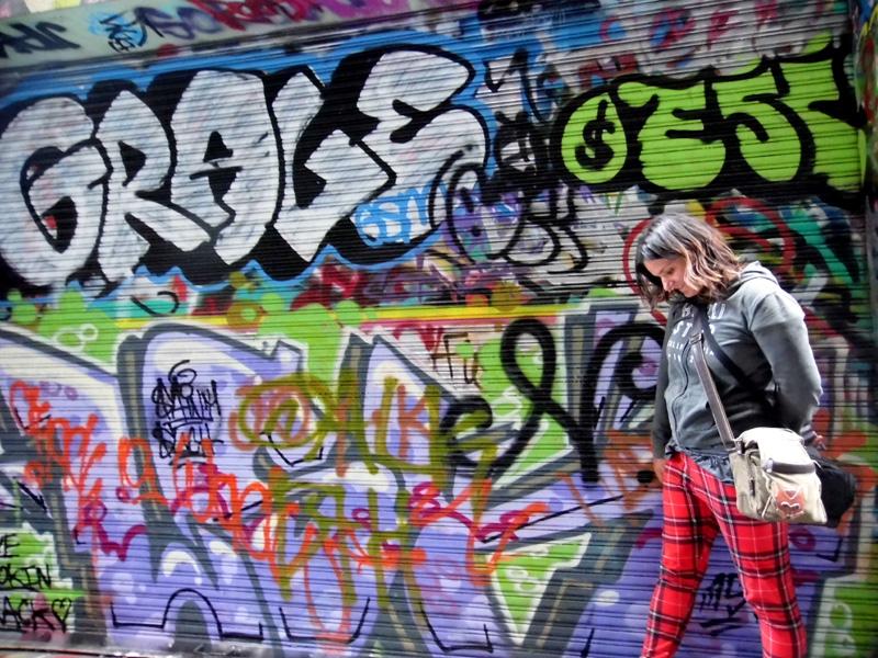 Street art, Hosier Lane, Melbourne, Australia