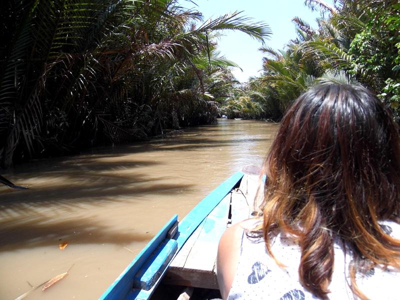 Mekong delta river boat tour, Vietnam
