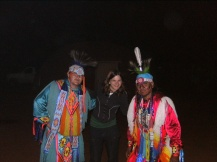 Navajo dinner and dance, Monument Valley, Utah, USA