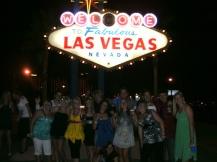 Las Vegas welcome sign, USA