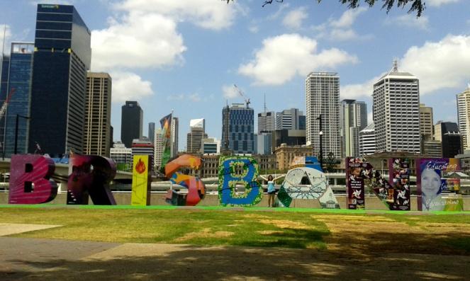 Brisbane sign, Australia