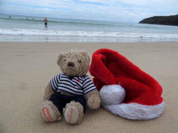 Christmas on the beach, Noosa, Australia, gulliver
