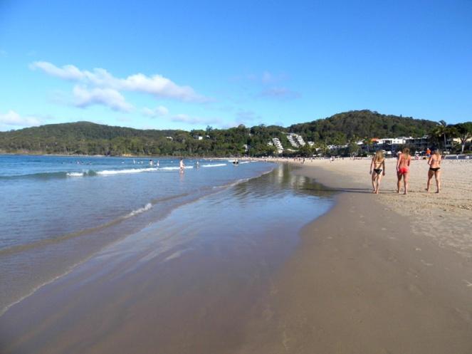 Noosa beach, Sunshine Coast, Australia