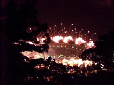 NYE Fireworks Sydney, Australia