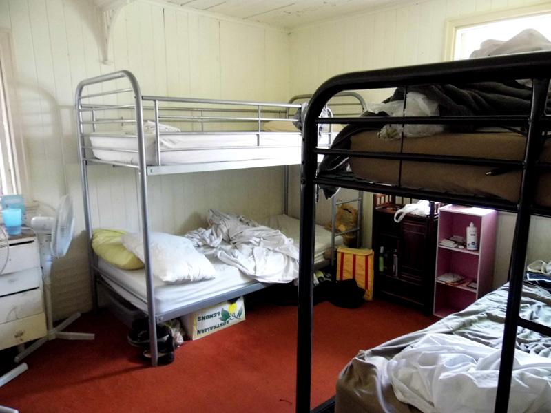 Hostel life, backpacking, backpackers, Brisbane, Australia