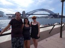 Sydney harbour and bridge, Australia