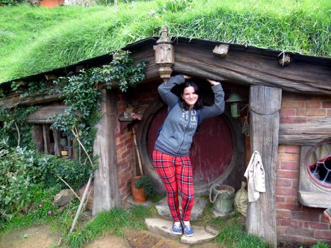 Hobbit house, Hobbiton, New Zealand
