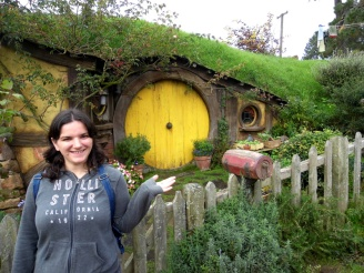Sam's hobbit house, Hobbiton, New Zealand