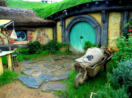 Hobbit House, Hobbiton, Lord Of The Rings, New Zealand