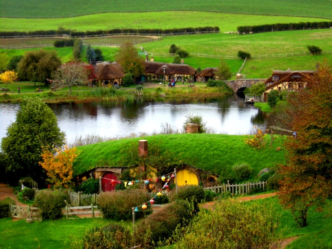 Green Dragon, Hobbiton, Lord Of The Rings, New Zealand