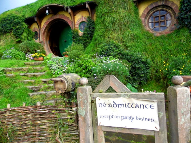 Bag End, Hobbiton, Lord Of The Rings, New Zealand