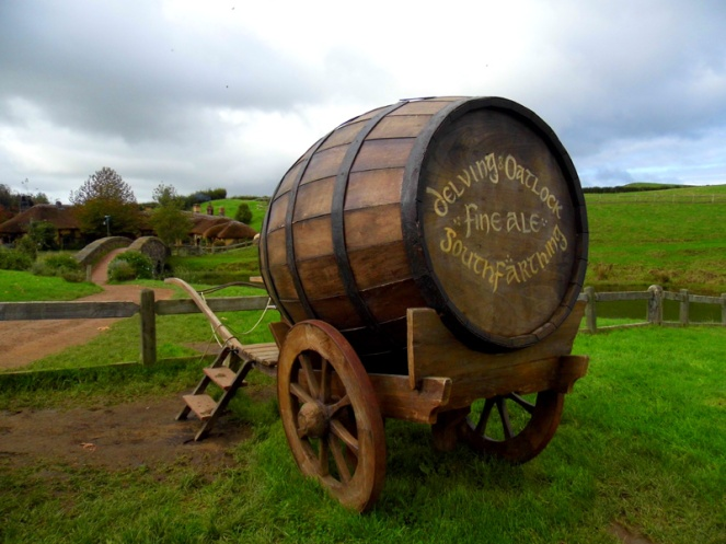 South Farthing Ale Barrel, Hobbiton, Lord Of The Rings, New Zealand