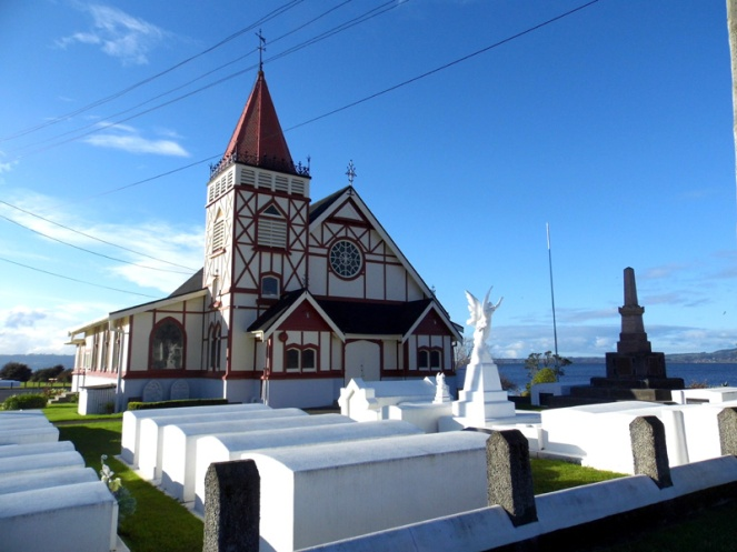 Church, Rotorua, New Zealand