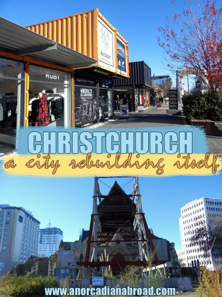 Christchurch: A City Rebuilding Itself In New Zealand