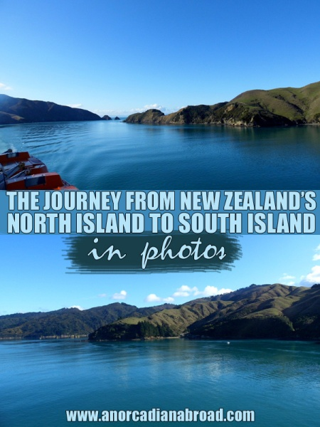 The Journey From New Zealand's North Island To South Island In Photos