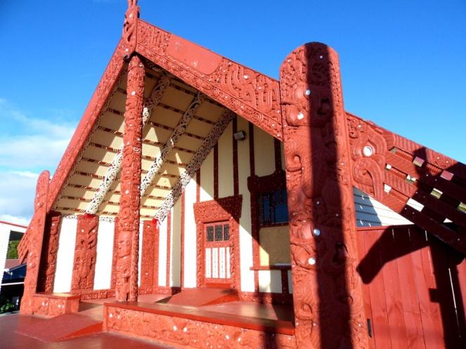 Ohinemutu marae church, Rotorua, New Zealand