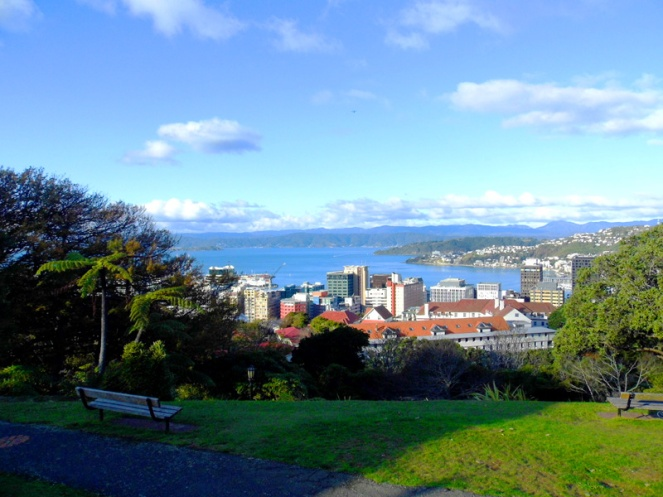 Botanical gardens, Wellington, New Zealand